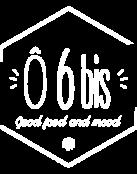 Logo O6bis png blanc transparent