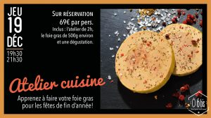 foie gras, atelier cuisine
